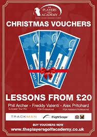 christmas gifts u2013 the players golf academy