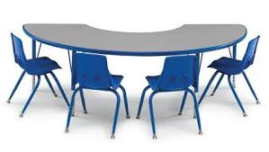 Half Moon Table Smith System 01153 Half Moon Activity Table 36 X 72 Today S