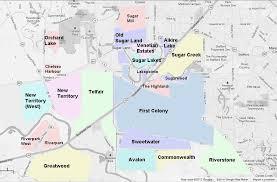 colony mall map colony sugar land