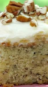 best ever banana cake with cream cheese icing cakes pinterest