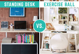 Exercise At The Office Desk Which Wins Wednesday Exercise Vs Standing Desk At Work
