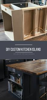 how to build a kitchen island ikea how to build a diy kitchen island house by the bay design