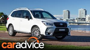 tan subaru forester 2016 subaru forester ts review caradvice youtube