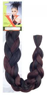 packs of kanekalon hair amazon com x pression 4 packs deal 2 dark brown supreme super x