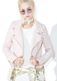 pink motorcycle jacket iron fist pink vegan leather moto jacket dolls kill