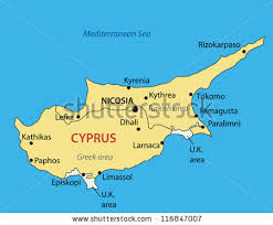 map of cyprus map of cyprus stock images royalty free images vectors