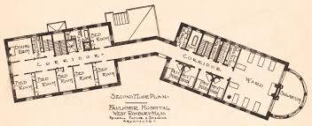 faulkner hospital second floor plan digital commonwealth