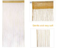 Patio Net Curtains by String Curtains Patio Net Fringe For Door Fly Screen Windows