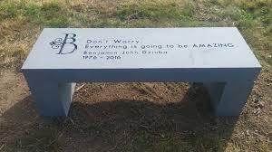 memorial benches memorial benches tunkhannock memorial benches meshoppen