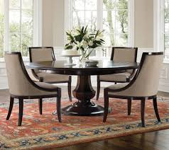 Dining Room Ansley Manor Round Pedestal Table  Piece Set In - Round kitchen table sets for 6