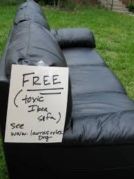 chemical free sleeper sofa curb alert free toxic sofa laura s rules