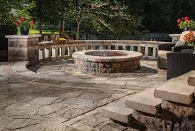 Patio Firepit Turn Up The Heat With These Cozy Pit Patio Design Ideas From