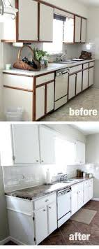 Painting Laminate Kitchen Cabinets Without Sanding Budget Kitchen - Painting laminate kitchen cabinets