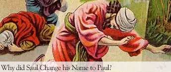 Saul Blind Why Did Paul Change His Name Messiah U0027s Mandate