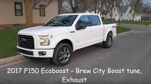 cars ford 2017 watch this ford f 150 ecoboost blow the doors off a hellcat the