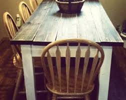 Distressed Kitchen Table Bench Photo Distressed Kitchen Tables - Distressed kitchen table