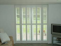 interior shutters home depot bypass plantation shutters how to install on sliding doors for price