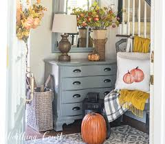 foyer decor your foyer is the best place to welcome fall into your home