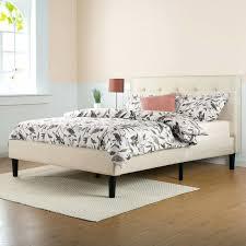 platform bed with nightstand interior design