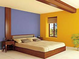 simple bedroom colour interior design