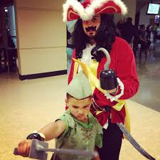 surfer halloween costume father and son halloween costume peter pan and captain hook diy