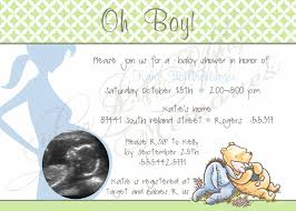 classic winnie the pooh baby shower invitations images