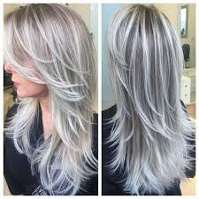 transitioning to gray hair with lowlights beautiful pewter silver combination would love to try this as a