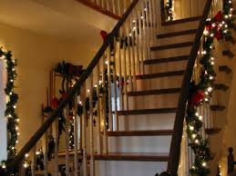 christmas garland with lights christmas garland with lights for stairs christmas lights decoration