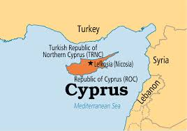 where is the republic on the world map cyprus operation world