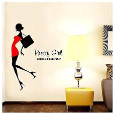Generic DIY Fashion Self Adhesive PVC Removable Wall Stickers