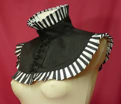 baroque halloween costumes gothic version of arlequin victorian neck ruff for carnival