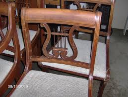 Antique Drop Leaf Dining Table Furniture Extraordinary Duncan Phyfe Chairs Design With Antique