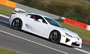 lexus sport car lfa orders for lexus lfa outstrip planned production volume car and