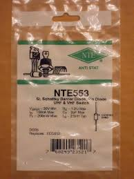 nte553 ecg553 sk9975 mc301 silicon schottky barrier pin diode uhf