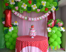 strawberry shortcake birthday party ideas balloon idea minus the 1 vintage strawberry shortcake birthday