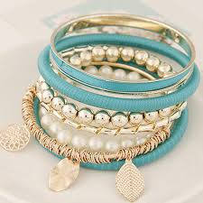 bangle style bracelet images Bohemia jewlery indian style colorful multilayer round bracelets jpg