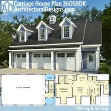 carriage house plans 5 stylist design 3 car garage home pattern