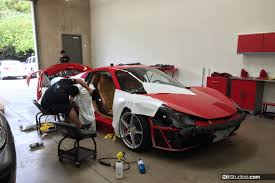 ferrari custom paint wrap vs paint when to wrap and when to paint your car