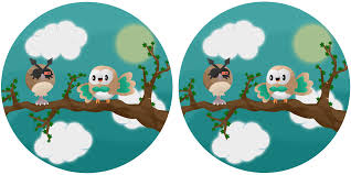 spot the difference rowlet and hoothoot by thelittlelight on