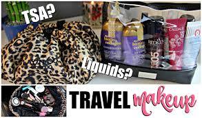 Kansas travel toiletries images Travel makeup toiletries what i packed tsa jpg