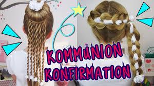 Hochsteckfrisurenen Lange Haare Konfirmation by Coole Konfirmation Kommunion Frisuren Die Sonst Keiner Hat