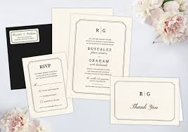 wedding invitation bundles wedding invitation packages by wedding paperie