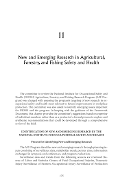 11 new and emerging research in agricultural forestry and