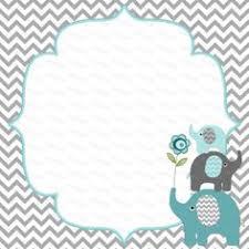 printable elephant baby shower invitations printable elephant baby