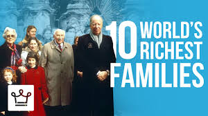 top 10 richest families in the world