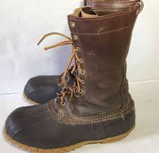 mens wide motorcycle boots l l bean men u0027s insulated hunting boots duck boots size 10 wide