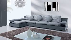 grey sofa modern modern sectional sofas amazoncom baxton studio orland bonded