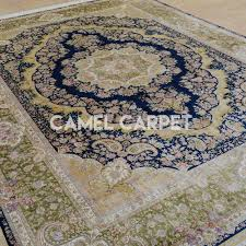 silk on silk persian style red and gray area rug camel