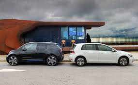 volkswagen fast car battle of the electric family cars 2017 bmw i3 rex vs volkswagen