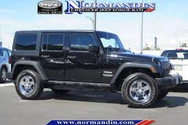 Jeep Wrangler Sport S Interior Used 2015 Jeep Wrangler For Sale Pricing U0026 Features Edmunds